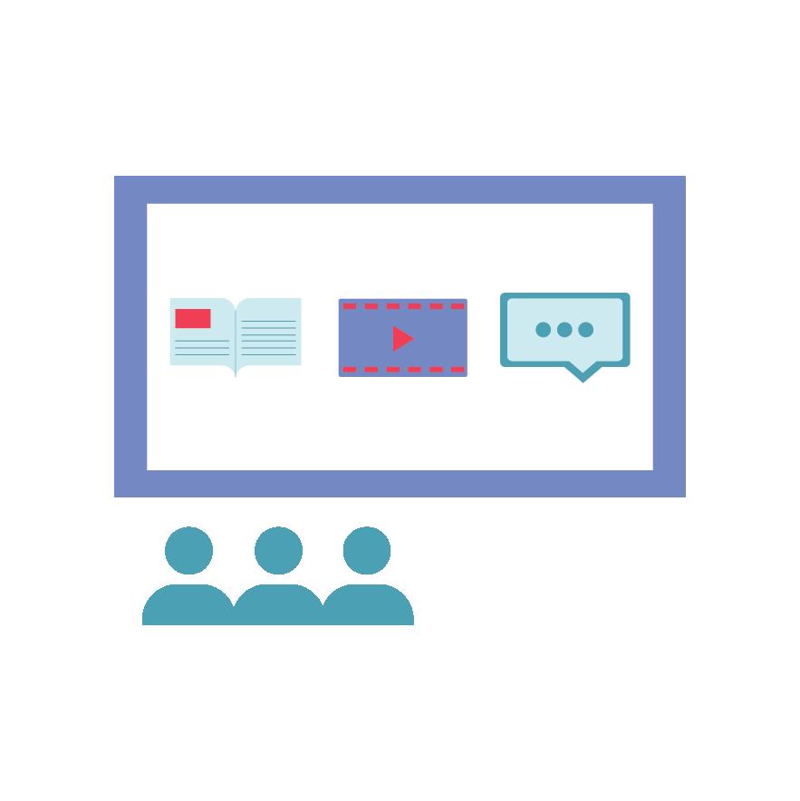 Icon depicting user training